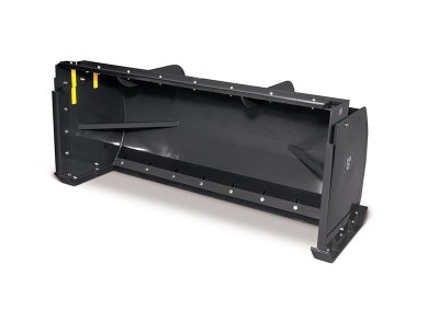8′ Snow Pusher for Skidsteer