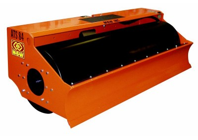 Smooth Drum Roller for Skidsteer
