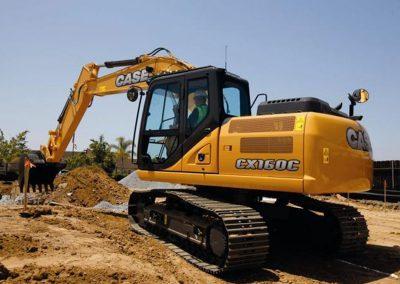 37,000lbs 21'5″ Dig Depth Excavator