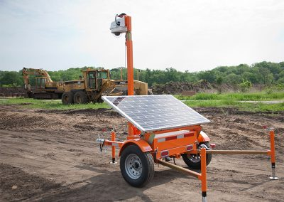 Mobile Security Camera Solar Powered